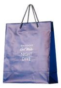 Luxe plastic tassen met koorden